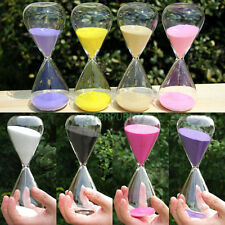 Colors! 15Min Triangle Sandglass Hourglass Timer Clock Time Decor Xmas Best Gift