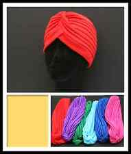 TURBAN HAT (ASSORTED COLORS)