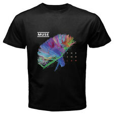 New MUSE *THE 2ND LAW Rock Band Men's Black T-Shirt Size S M L XL 2XL 3XL