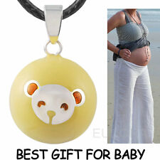 Mexican bolas Mommy pendants pregnancy angel caller chime ball with necklace