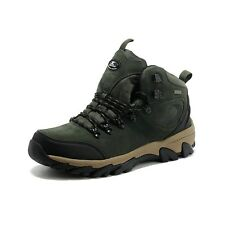 Mens Hiking Ankle High Top Work Shoes Trekking Boots Lace Up Trainers Footwear