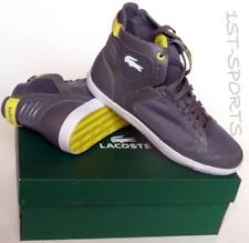 LACOSTE MENS TRAINERS, SHOES, PIPELINER SPM UK 8 to 9 GREY BNIB RRP £70
