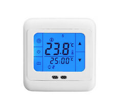 Touch screen Programmable Thermostat Underfloor Heating Temperature Controller
