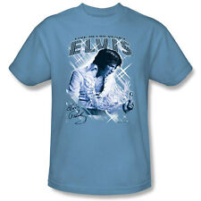 Elvis Presley Live In Vegas Sparkle Picture Photo Kids Youth L/S Men T-shirt top