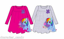 MY LITTLE PONY RAINBOW DASH TSHIRT RAINBOW DASH TUNIC STYLE AGE 3-10 *NEW*   386