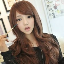 New Fashion Sexy Long Wavy Synthetic Full Wig Girl Hot Curly Party Cosplay Hair
