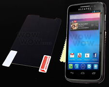 Clear Glossy LCD Screen Protector Cover Film Shield For Alcatel OT 5020 M POP