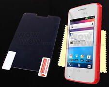 Clear Glossy LCD Screen Protector Cover Film For Alcatel One Touch T-Pop OT-4010