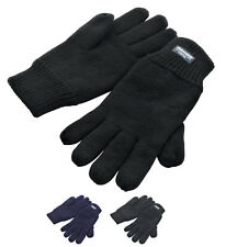 Result Thinsulate 3M Gloves, Jogging Walking Hiking Football Running Fully Lined