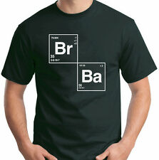 Breaking Bad T-Shirt Periodic Table Br Ba Walter White Heisenberg Size S-6XL