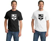 LA Kings 0728 Sports Hockey Vinyl T shirt Cotton Tee T-shirt