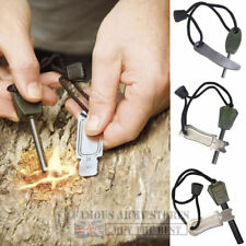 WEB-TEX STEEL-OF-FIRE  SURVIVAL STRIKER BUSHCRAFT FLINT HIKING LIGHTER FIRESTEEL