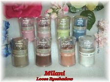 """1"" Milani Loose Eyeshadow - Fabulous Colors"