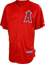 Los Angeles Angels Majestic Authentic Embroidered Cool Base Jersey