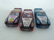 1 Set of Animal Friends Racing Car Shape Metal Stationery (Choice of 3 Design)