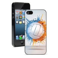 For Apple iPhone 4 4S 5 5S 5c Hard Case Cover 144 Volleyball Splat
