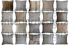 NEW Cream Gold Mink Collection Various Designs Luxury Quality Cushion Covers