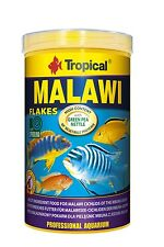 Premium Food Flakes Malawi, Tropical MALAWI CICHLIDS of mbuna group