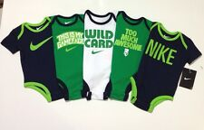 BRAND NEW AIR NIKE 5 pack Newborn Baby Bodysuit Romper All Colors ALL SIZES