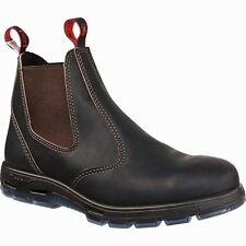 NEW! Redback BOBCAT CLARET OIL KIP NON SAFETY ELASTIC SIDE BOOTS ALL SIZES