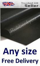 Dog Kennel Cage Pen Boot Floor FINE Ribbed Runner Rubber Matting 1.2m wide x 3mm