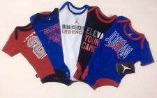 AIR JORDAN 5 pack Newborn Baby Boys Gift Outfit Set Bodysuits Rompers All Colors