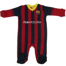 Barcelona FC Babygrow Sleepsuit all sizes 100% cotton Barcelona Baby Suit