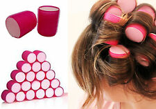 HAIR IN ACCESSORIES SLEEP SNOOZE VELCRO PINK 10 PACK LARGE ROLLERS KOKO TOOLS