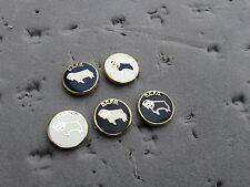 Derby County DCFC Ram Small Pin Badge - Football Badge