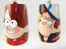 Gravity Falls Dipper Mable Pines Wendy Soos Waddles Grunkle Stan Photo Nails