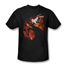 Samurai Jack Vs Aku Cartoon Network TV Youth Ladies Junior Women Men T-shirt Top