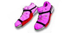 Carpet Gliders - Official ZGliderz PLUS2 with Heel strap - One Size Fits All