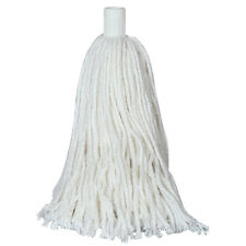 100% Cotton Mop Head Refill Replacement Push Fit Plastic Socket