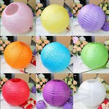 "6'' 8""12""16"" Multi-Color Paper Lanterns Lampshade for Wedding Party Decorations"