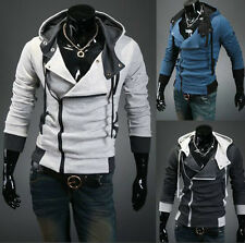 New Fashion Jackets leisure Slim Fit Men's Hooded SweaterCoats SIZE:SMLXL