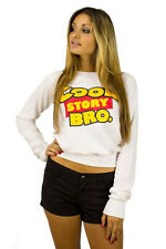 Cool Story Bro Toys Off The Shoulder Sweater - 100% Cotton