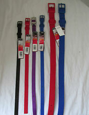 Brand New Four Paws Nylon Dog/Cat/Pet Collar VERY DURABLE Multiple Color & Size