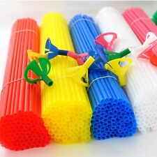 New  Balloons Sticks and Multicolor Cup For Wedding Supplies Party 10-50pcs