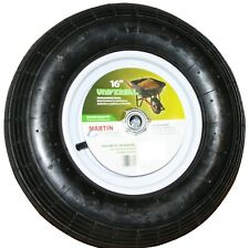 "16"" Universal Wheelbarrow Replacement Tire & Wheel 4.80x4.00-8 3/4"" 5/8"" Bearing"