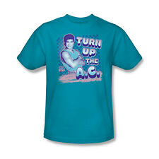 Saved By The Bell Turn Up The AC Slater Picture Youth Ladies Jr Men T-shirt top