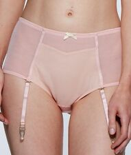 Lepel Lucille suspender brief Blush, 8-16, womens briefs, detachable suspenders