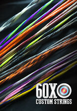 60X Custom Strings & Cable Set for any 2008 Bowtech Bow Color Choice Bowstrings
