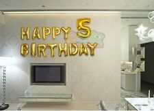 A-Z/0-9 Self-sealing Alphabet/Number Mylar Foil Balloons for Party Decoration