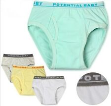 hot 2 PCS new Kids Baby Boy Toddler Pants Cotton Underwear Briefs Size:110-150