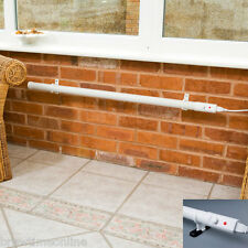 Slimline Tube Heater with Thermostat for Conservatory, Porch or Outbuilding