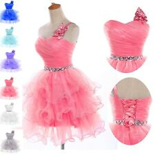 2014 Formal Ball Graduation Cocktail Evening Prom Party Short Dresses FREE SHIP