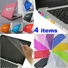 4in1 Rubberized Matt Hard Case+KB Cover+LCD Film+Plug for MacBook Pro 13'' A1278