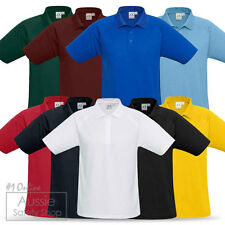 MENS LADIES WOMENS NEW GENERATION PLAIN SOLID BREATHABLE QUICK DRY POLO SHIRT
