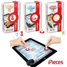 iPieces Game of Goose, Air Hockey, Snakes & Ladders Games for Ipad by Pressman