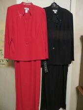 DRASTICALLY REDUCED FORMAL MOTHER OF BRIDE DRESS BLK OR DEEP RED WAS $229 NOW50